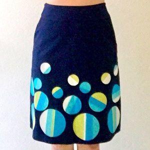 🆕 BODEN Bubbly Dots Appliqué Skirt
